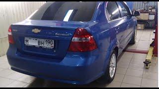 Замена катализатора на пламегаситель Chevrolet Aveo. Москва.(, 2013-10-16T15:59:20.000Z)