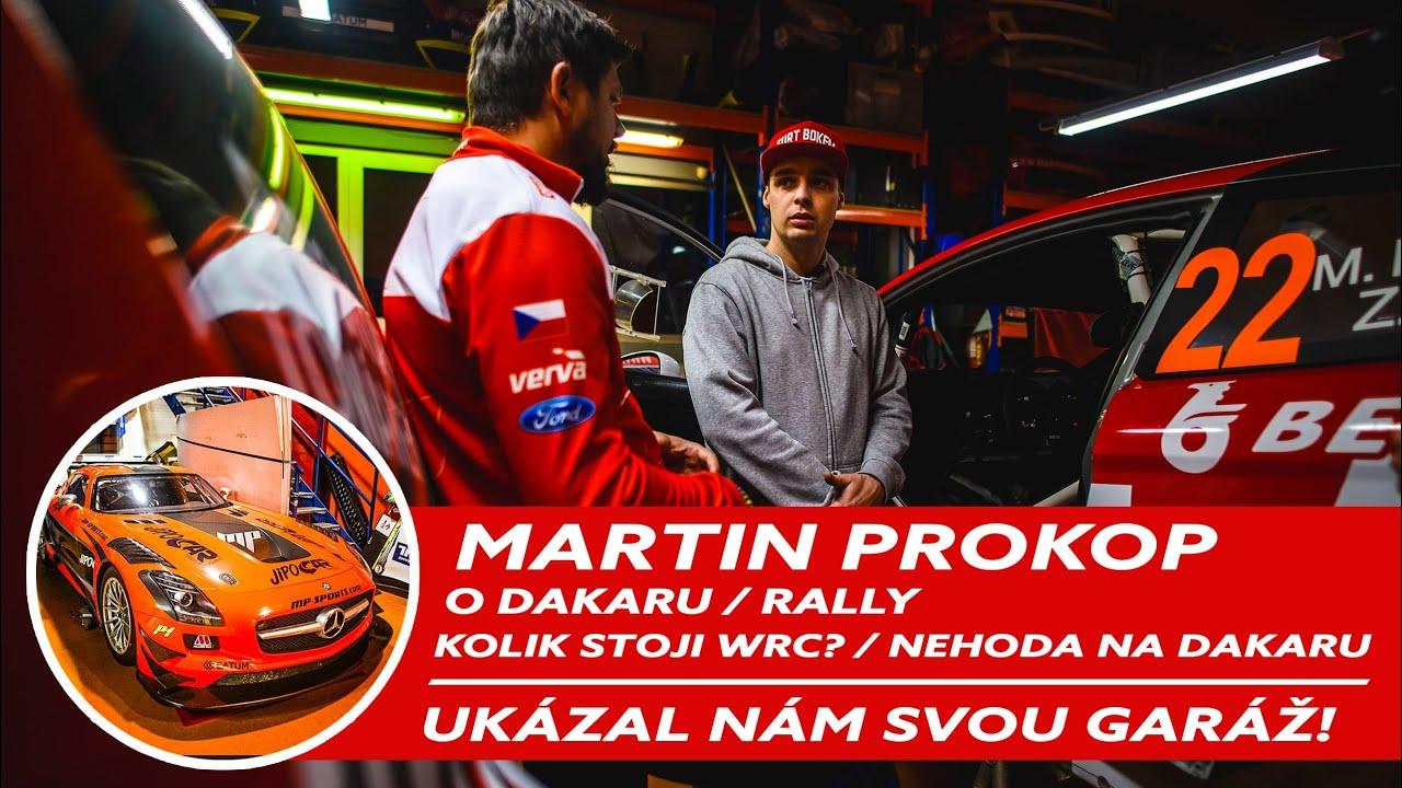 V garáži Martina Prokopa | Vozový park l Kolik stojí WRC? / Nehoda na Dakaru! l Kompletní verze