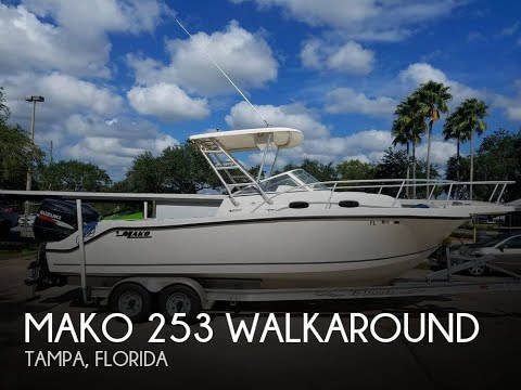 [SOLD] Used 2006 Mako 253 Walkaround In Tampa, Florida