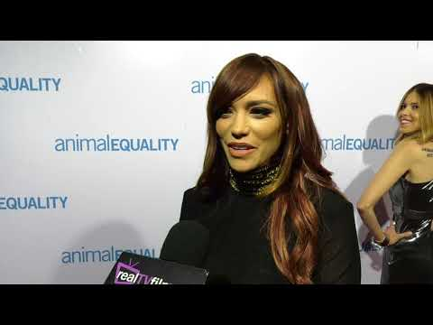 Jessica Sutta , Pussy Cat Dolls, Animal Equality Gala 2017