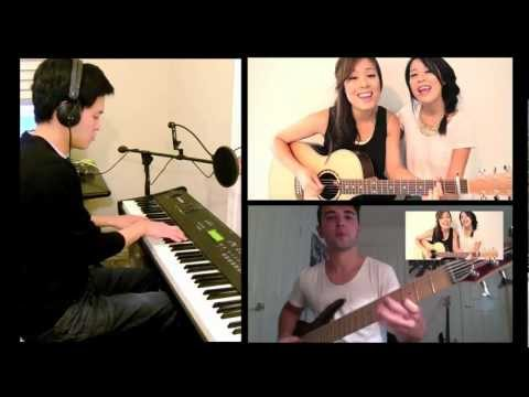 Gangnam Style (Guitar.Bass) cover with Jayesslee and pinnhuk