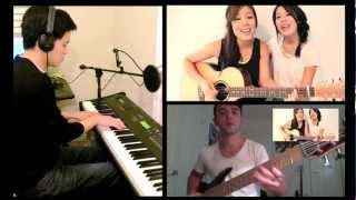 Gangnam Style (Guitar.Bass.Piano) cover with Jayesslee and pinnhuk
