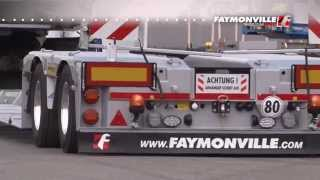 FAYMONVILLE - Single wheel suspension by Faymonville: the Twin Axle II