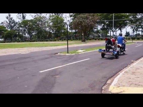 Moto Brasil - Carreta moto socorro - gás e água - multiuso
