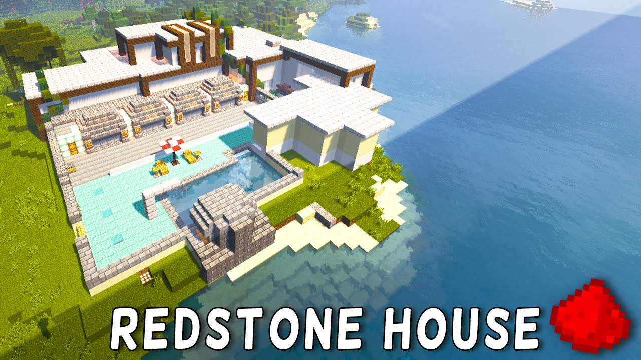 Redstone modern beach house redstone modern mansion minecraft redstone modern beach house redstone modern mansion minecraft redstone maps youtube sciox Choice Image