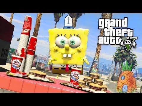 SPONGEBOB'S ADVENTURES!! (GTA 5 Mods)