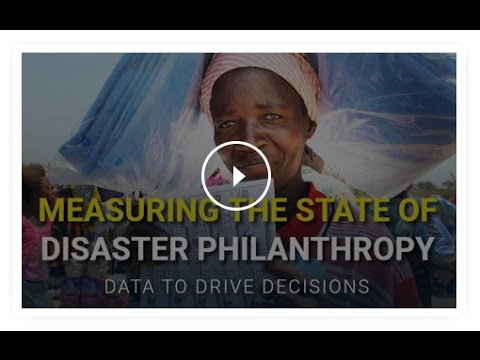 Foundation Maps: Measuring the State of Disaster Philanthropy