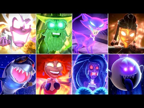 Luigi\'s Mansion 3 - All Bosses (No Damage)