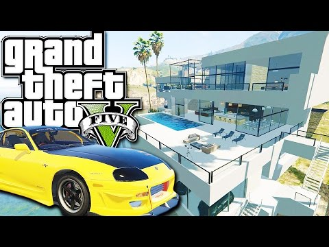 GTA 5 Mods - BILLIONAIRES MANSIONS MOD!! GTA 5 Mansions Mod Gameplay! (GTA 5 Mods Gameplay)