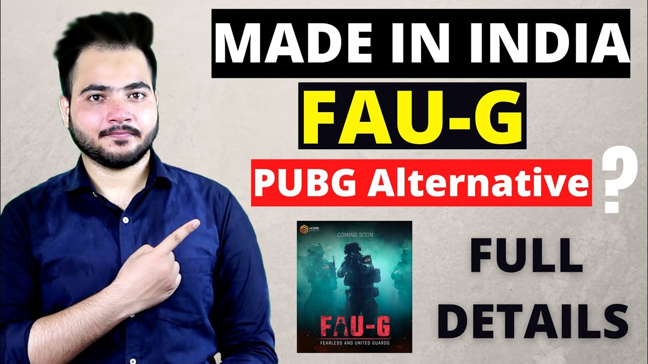 Download FAU-G The Made In INDIA PUBG Coming Soon   Full Details FAU-G Game Releasing Date and Interface?