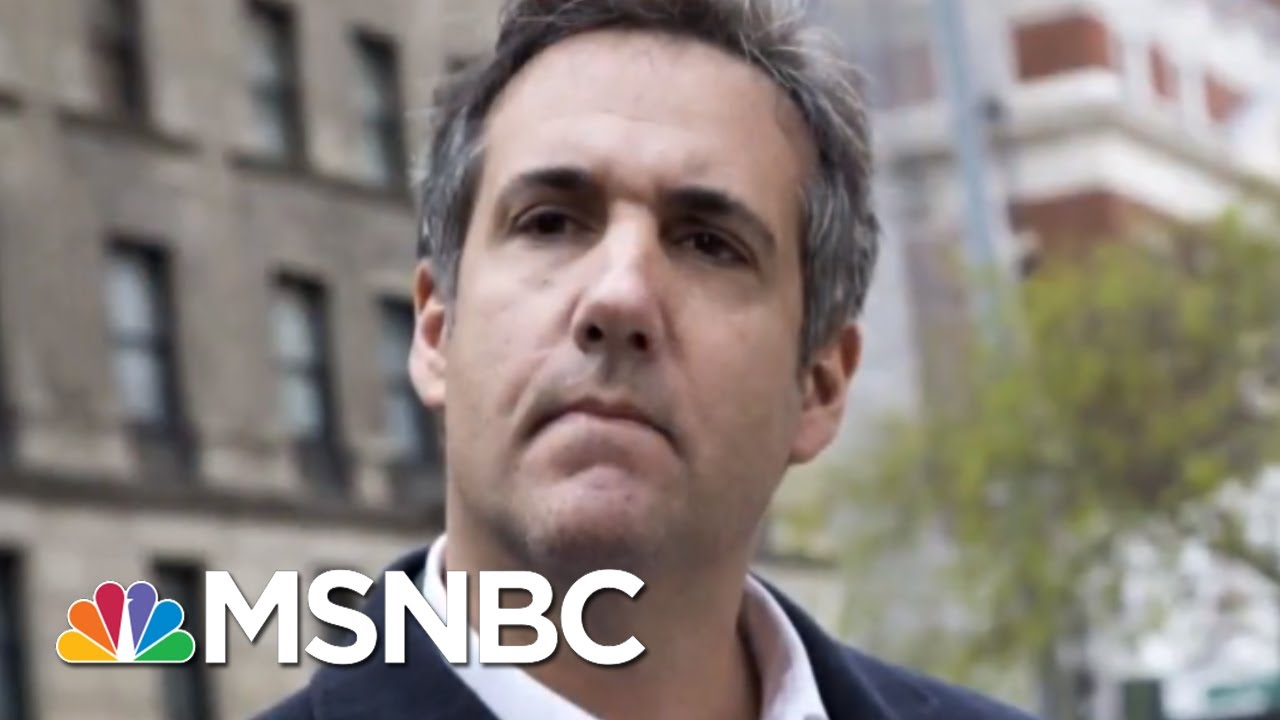 What 'Critical Information' Did Michael Cohen Tell Robert Mueller About? | Velshi & Ruhle | MSNBC