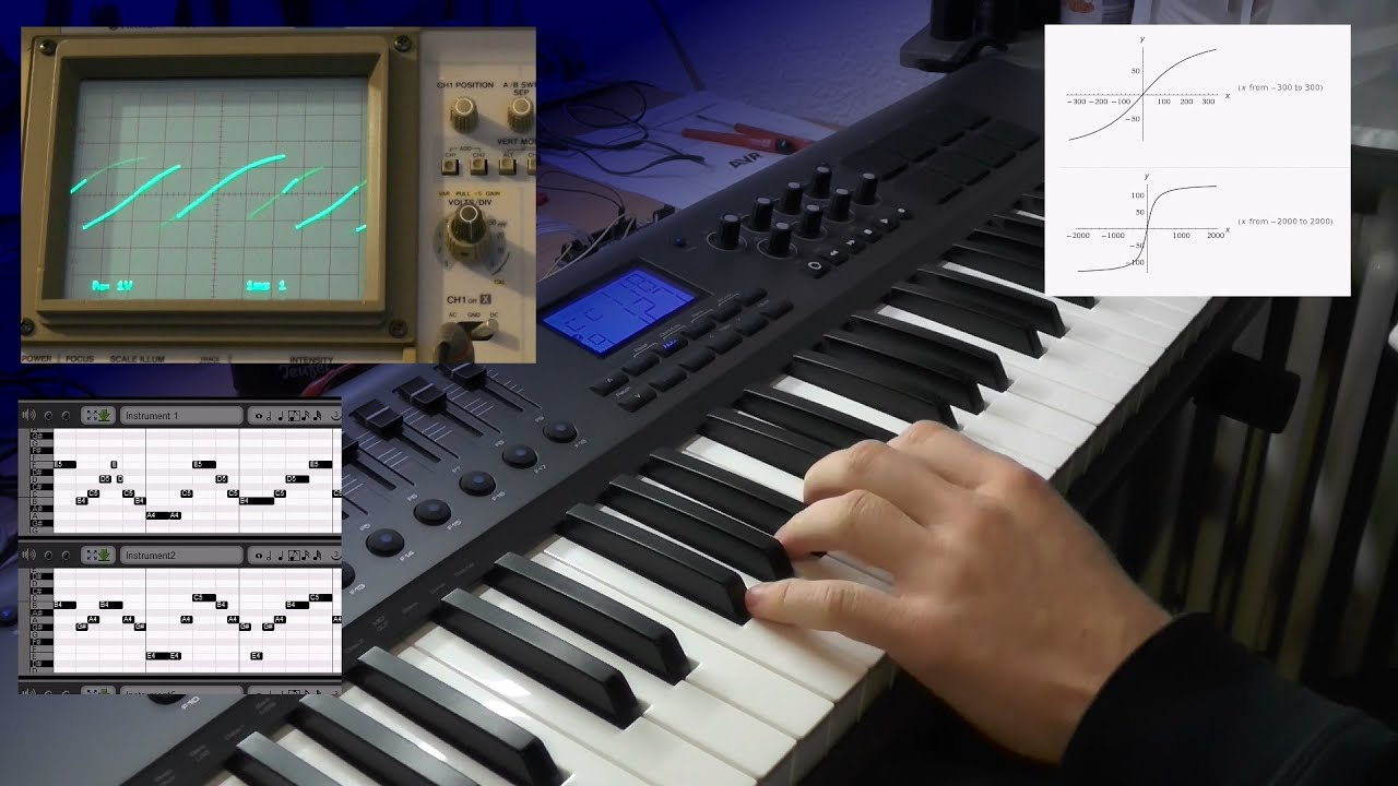 arduino midi synthesizer part 2 polyphony and compression youtube. Black Bedroom Furniture Sets. Home Design Ideas