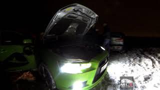 Зимние развлечения на озере вместе с Mitsubishi Lancer X Club