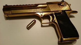 Desert Eagle .50AE One Handed Shooting