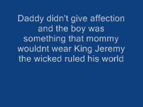 Pearl Jam-Jeremy (lyrics)