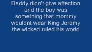 pearl jam jeremy lyrics