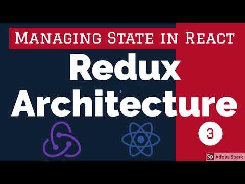 Redux Architecture - React Redux Training
