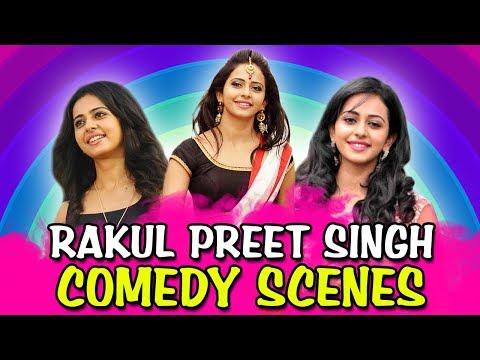 Rakul Preet Singh Comedy Scenes | South Indian Hindi Dubbed Best Comedy Scenes thumbnail