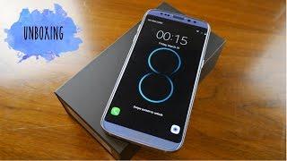 Unboxing y Primeras Impresiones del Samsung Galaxy S8 (Fake)