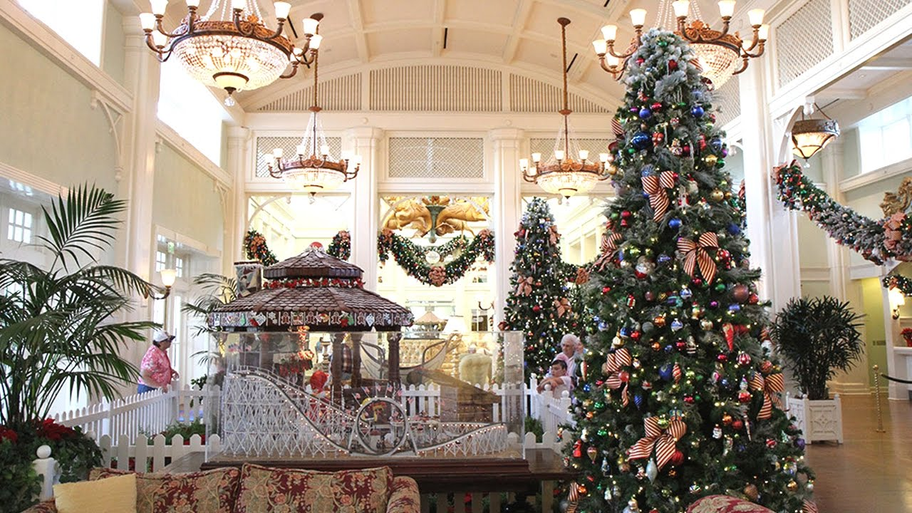 Disney Beach Club Resort Christmas