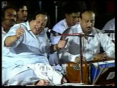 Sanu Ek Pal Chain Na Aave (Best Version With English Translation) — Nusrat Fateh Ali Khan & Party