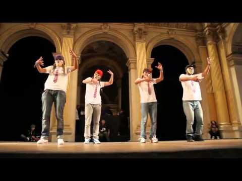 Видео, крутые танцоры из Франции