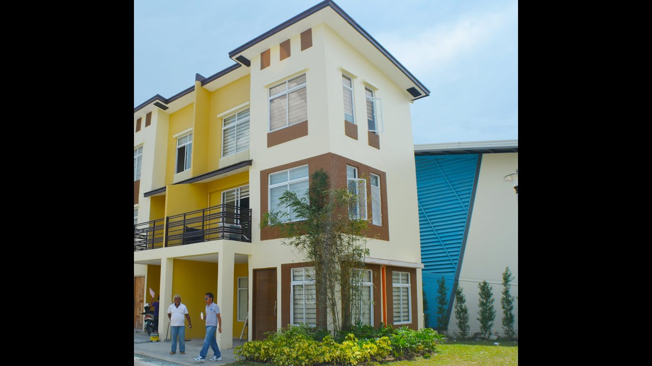Mabelle 3 storey townhouse at lancaster new city cavite for 3 story townhomes