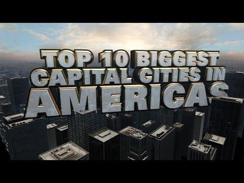 Top Ten Biggest Capital Cities in the Americas 2014