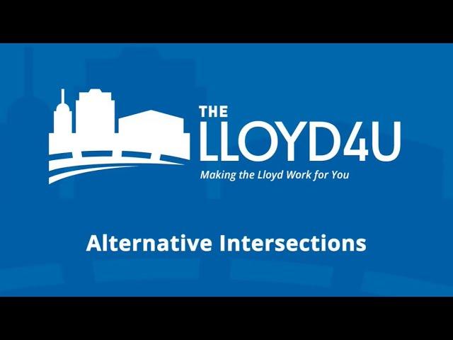 Alternative Intersections