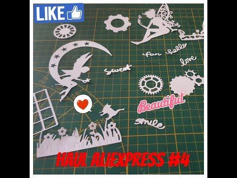 Haul Aliexpress scrapbooking #4