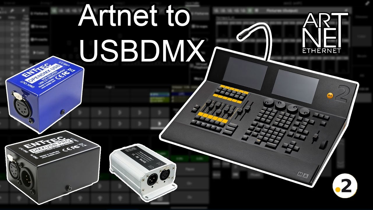 China Showjockey LED Controller DMX Artnet Controller