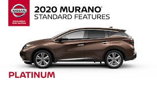 homepage tile video photo for 2020 Nissan Murano Platinum Walkaround & Review