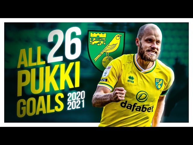ALL 26 CHAMPIONSHIP GOALS   TEEMU PUKKI 2020-21