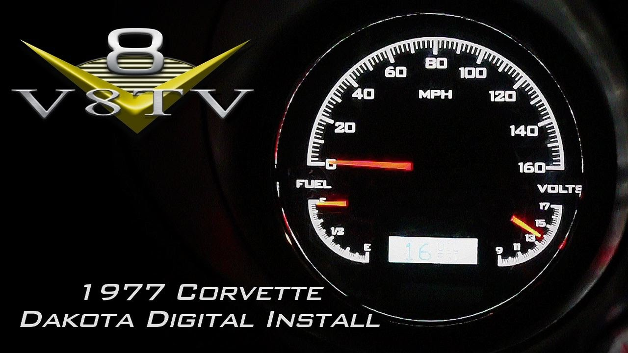C3 Corvette Interior Upgrades Video Series Part 1 Of 2 Dakota 1968 Tachometer Wiring Musclecar V8tv
