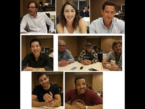 SDCC 2015 – Grimm Press Room Interviews