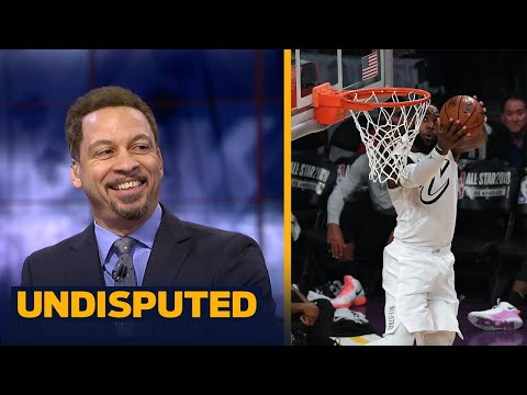 Chris Broussard reacts to LeBron James winning his 3rd NBA All-Star MVP | UNDISPUTED