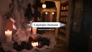Every weekends, live ancient instruments at Cagaloglu Hamam