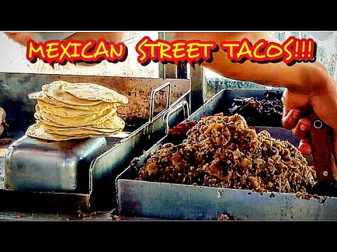 AMAZING MEXICAN STREET TACOS
