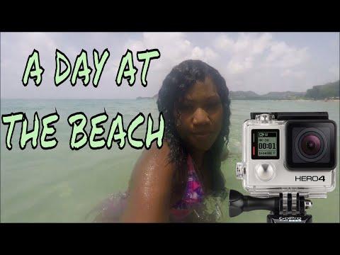 A DAY AT THE VIGIE BEACH || UNDERWATER FOOTAGE ❤