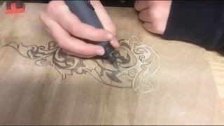 Dremel Wood Carving - design