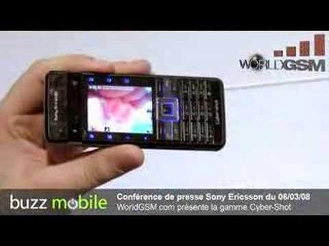 Sony Ericsson c902 c702 Gamme Cyber-Shot WorldGSM