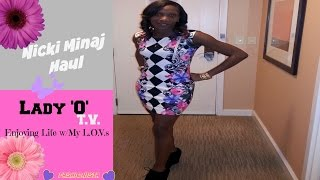 NICKI MINAJ HAUL only @ KMART!!!
