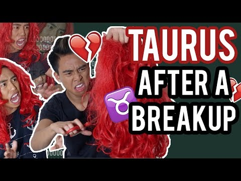 TAURUS - Zodiac Signs after a Breakup 💔 ♉ - YouTube