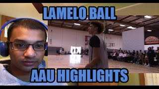 LAMELO BETTER THAN LONZO BALL? LAVAR SUPER HYPED! LaMelo Ball AAU Basketball Highlights (REACTION)