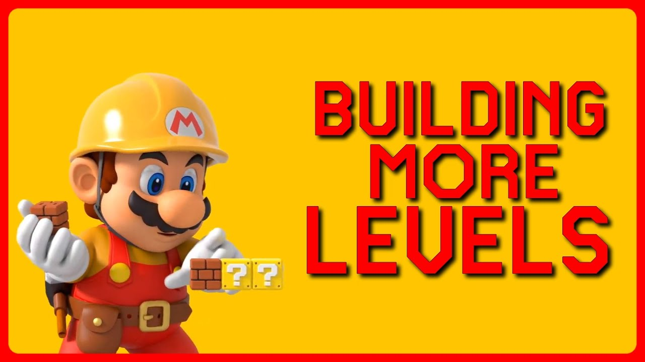 Time to BUILD epic MARIO LEVELS!