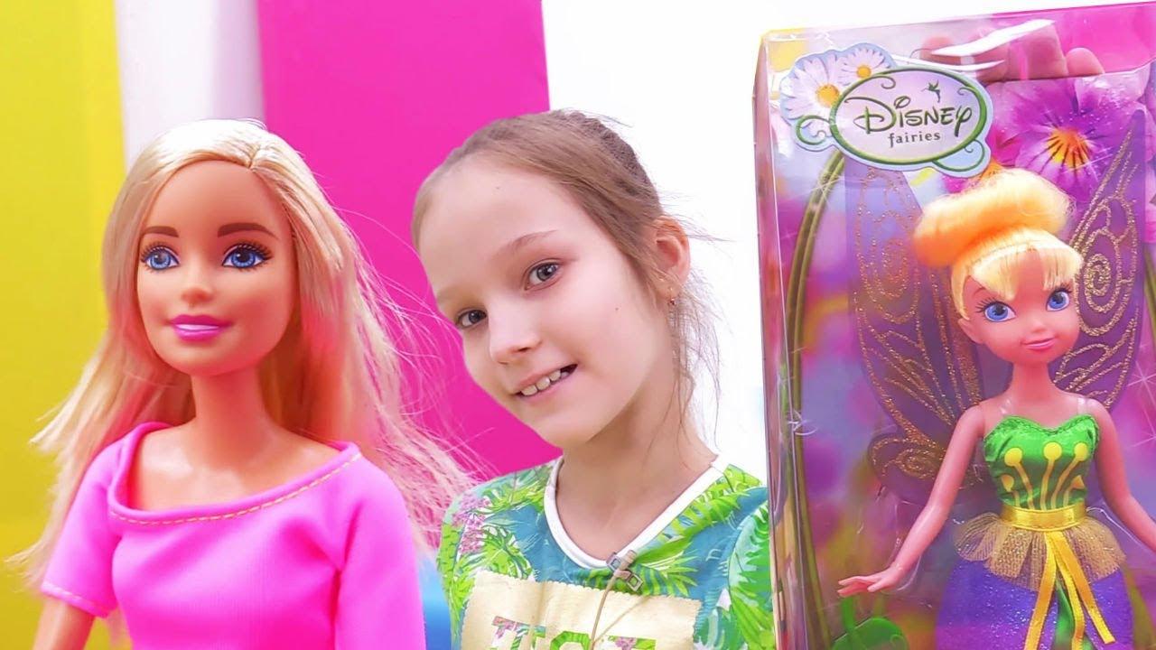 Видео про куклы. Школа гимнастики Барби - Уроки ...