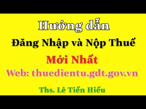 Hướng Dẫn Cài Đặt Phần Mềm Nạp Thuế Điện tử mới nhất - Thuedientu.gdt.gov.vn