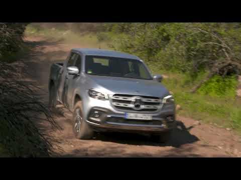 Mercedes-Benz X-Class Press Test Drive (Diamond Silver Metallic) | Autoblog Uruguay