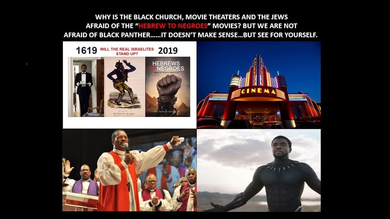 "WHY IS EVERYONE AFRAID OF THE ""HEBREWS TO NEGROES"" MOVIE? SEE FOR YOURSELF AND DECIDE!"