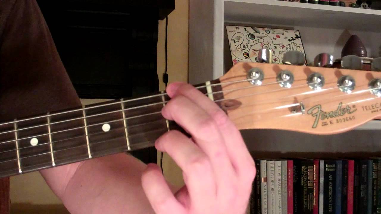 How To Play The F9 Chord On Guitar F Ninth 9th Youtube